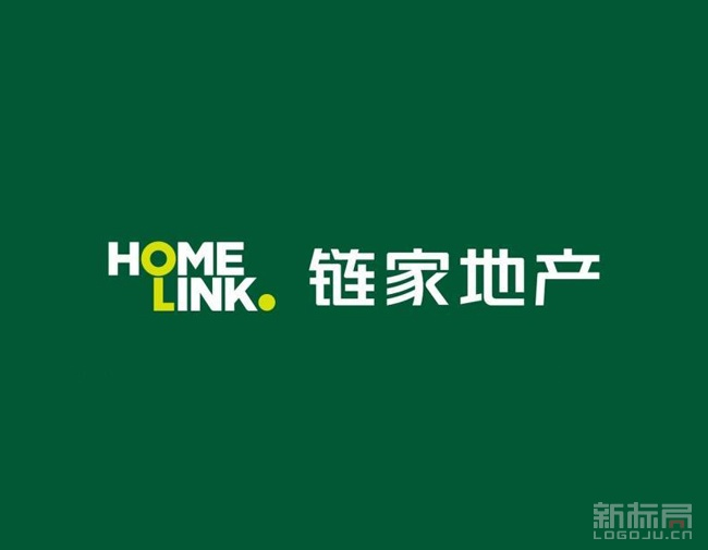 homelink链家地产旧logo