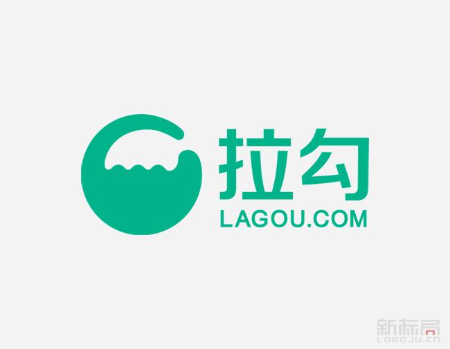 拉勾网,互联网领域招聘平台logo