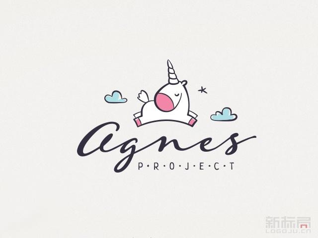 俄罗斯圣彼得堡Agnes Project儿童派对logo