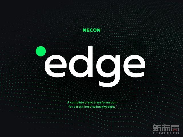 edge hosting网络服务公司标志logo