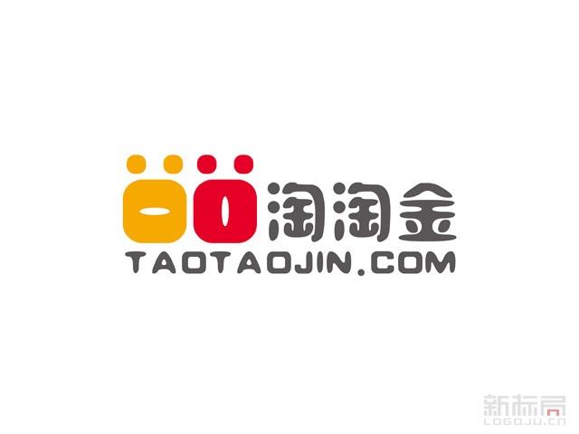 互联网金融平台淘淘金标志logo