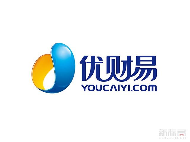 互联网金融平台优财易标志logo