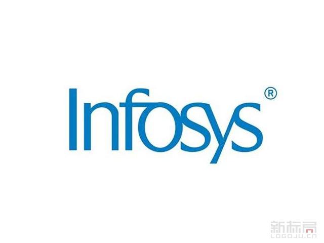 印度信息技术和商务咨询服务商Infosys标志logo