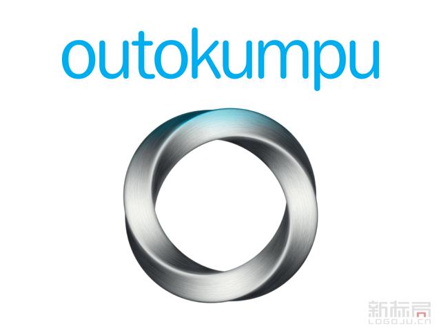 芬兰钢铁制造商奥托昆普Outokumpu标志logo