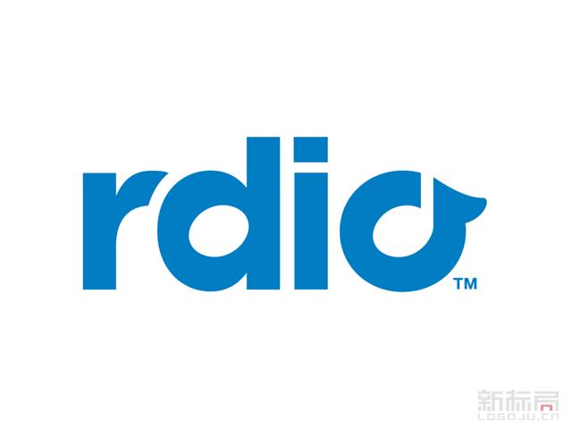 音乐流媒体rdio标志logo