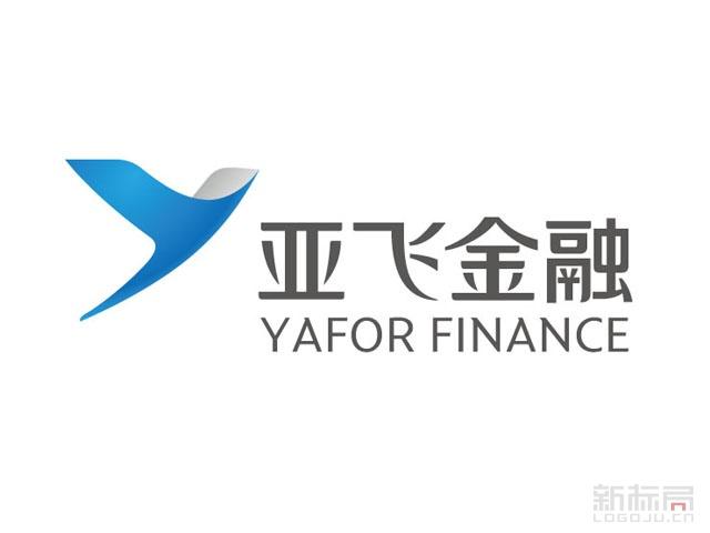 亚飞金融标志logo