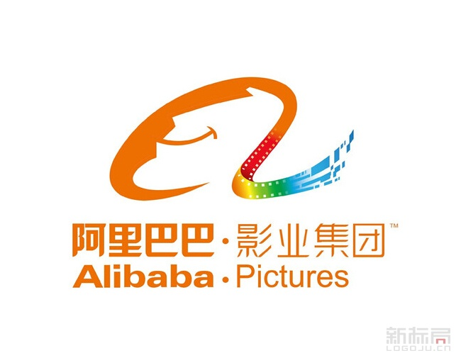 Alipictures阿里影业logo