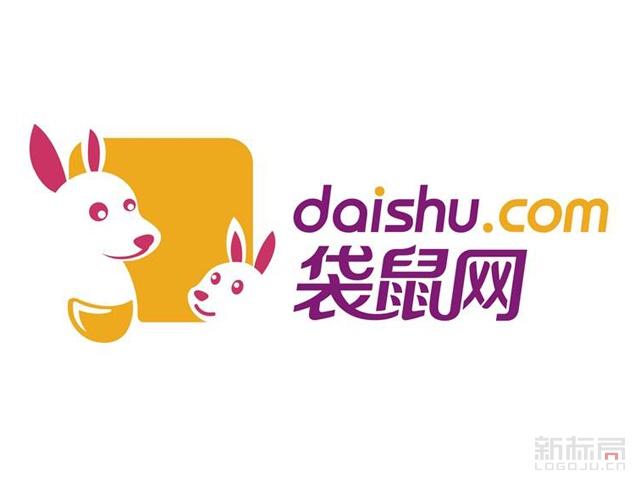 家庭教育服务平台袋鼠网标志logo