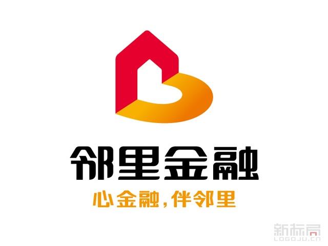 汉口银行邻里金融服务标志logo