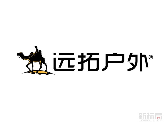 远拓户外标志logo