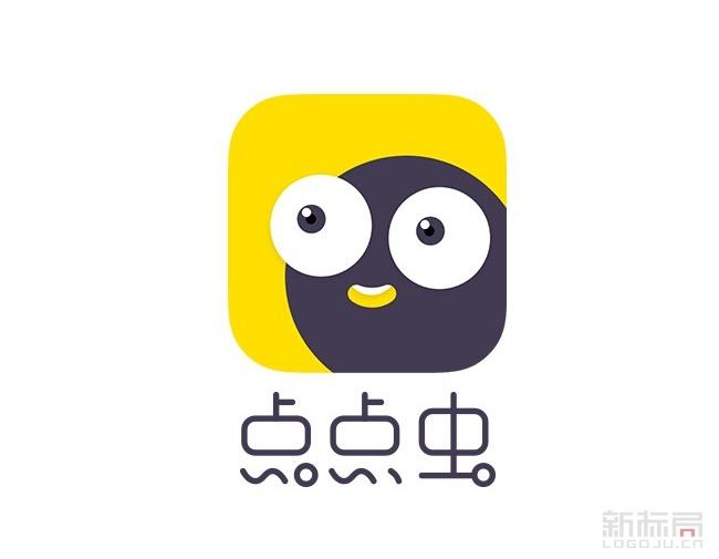 即时通讯社交应用点点虫logo图标