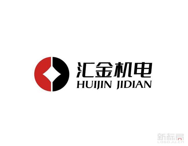河北汇金机电标志logo