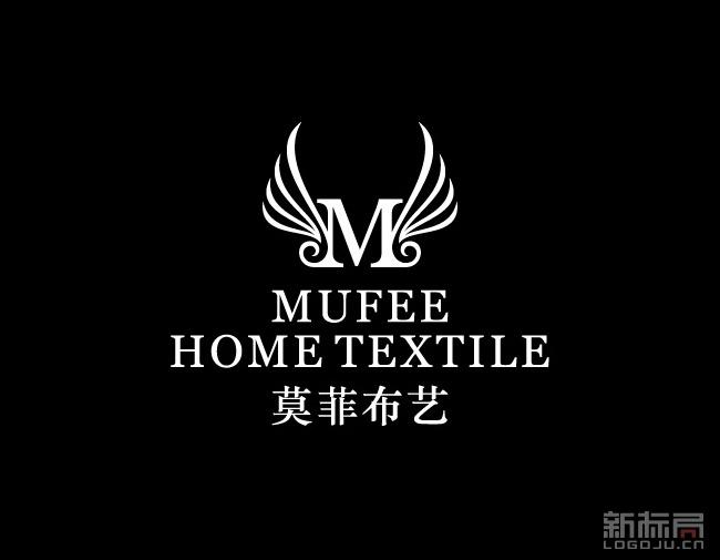 莫非布艺标志logo