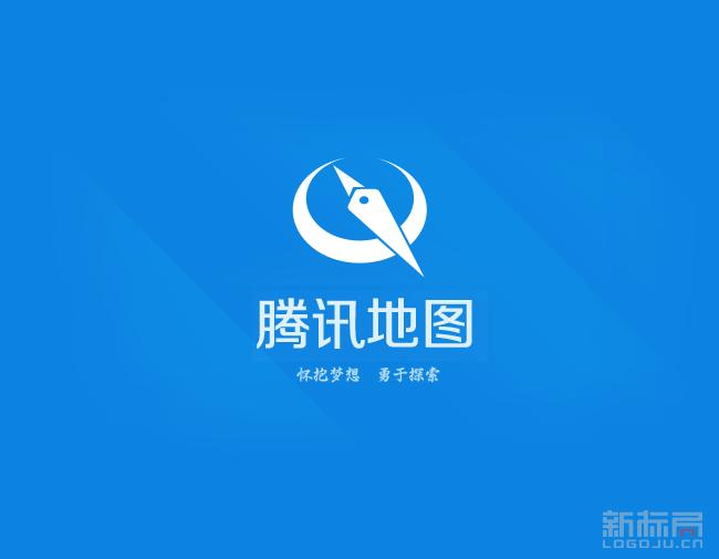 腾讯地图标志logo