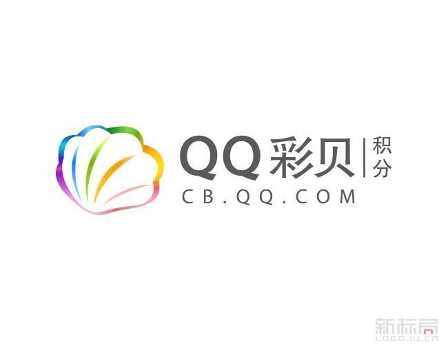腾讯兑换返利平台-QQ彩贝标志logo