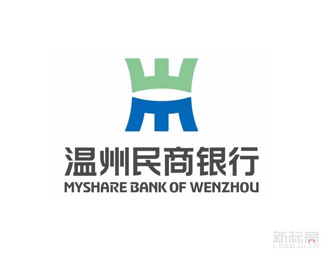温州民商银行标志logo