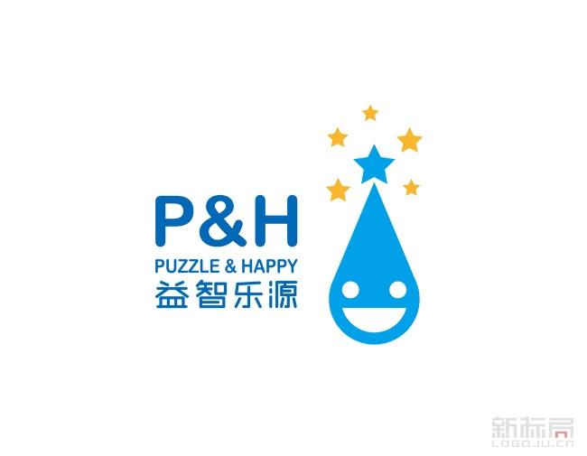 广州p&h益智乐源标志logo