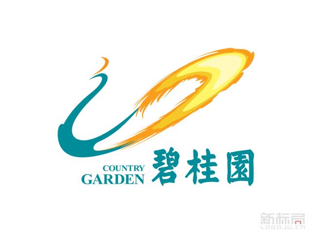 房地产开发商碧桂园标志logo