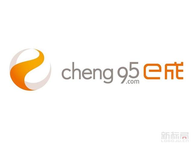 招聘服务平台E成网标志logo