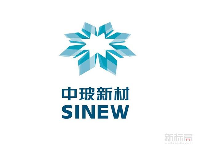 中玻新材集团标志logo