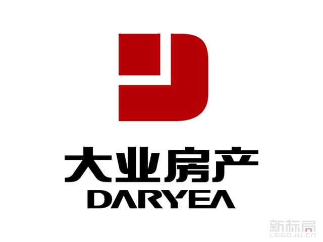 大业房产集团标志logo
