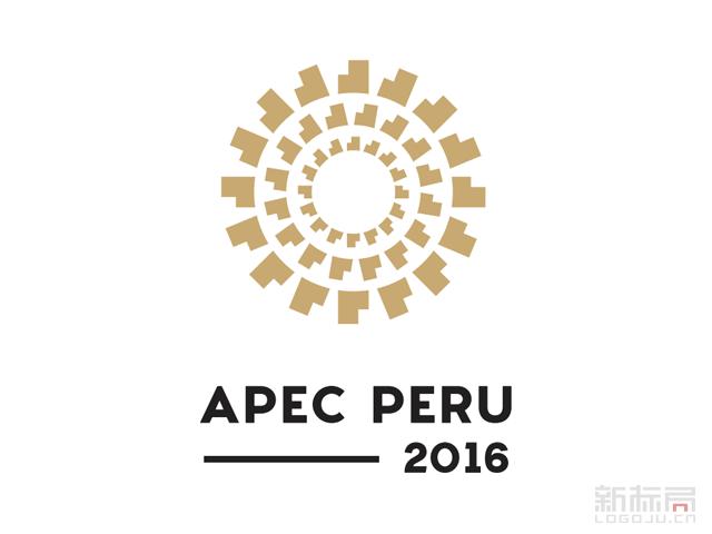 2016秘鲁APEC峰会官方会徽标志LOGO