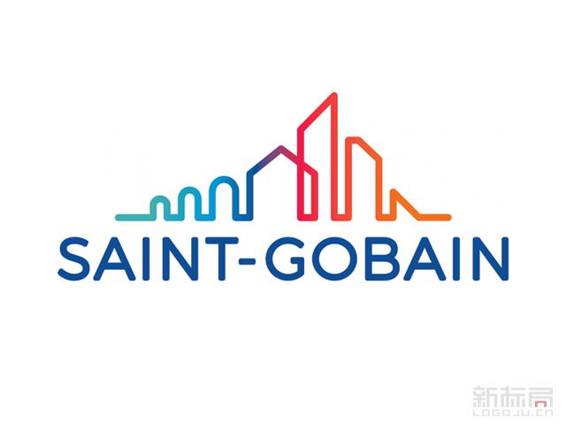 法国建筑巨头圣戈班集团Saint-Gobain新标志LOGO