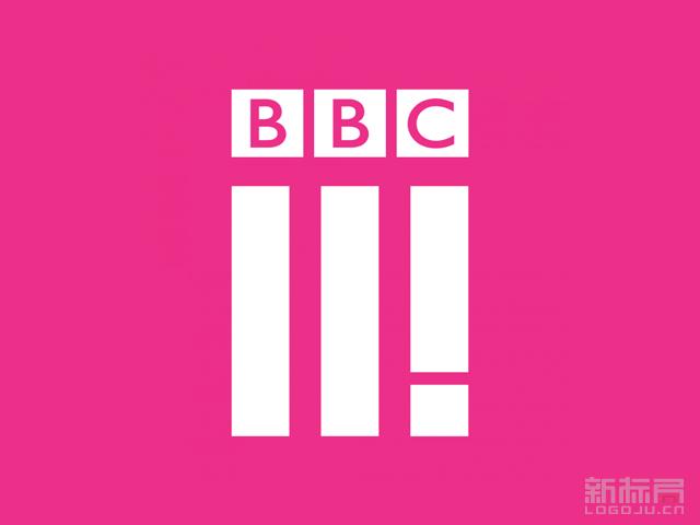 英国广播公司第三台BBCThree新标志LOGO