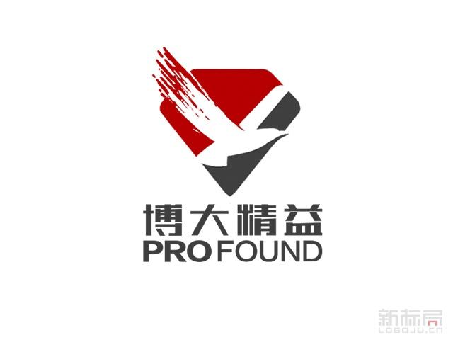 博大精益制药标志logo