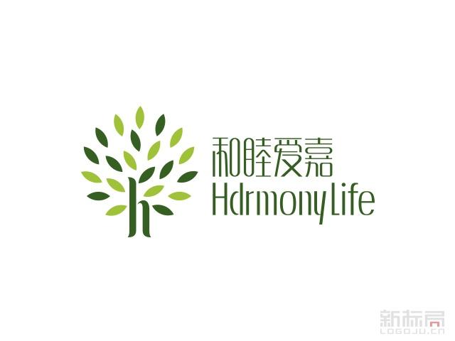 和睦爱嘉月子会所标志logo