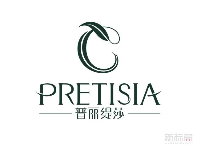 普丽缇莎美容会所标志logo