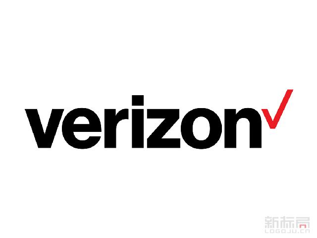 美国电信巨头Verizon新标志logo