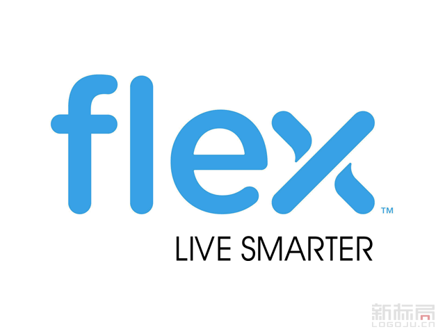 代工企业伟创力Flex标志logo
