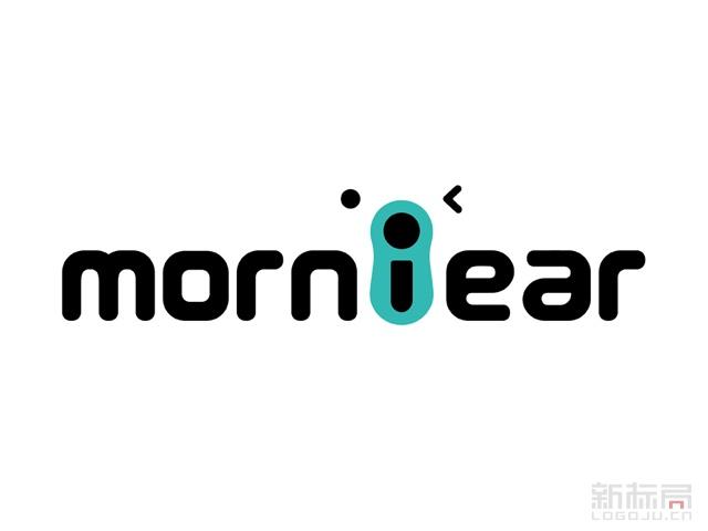 摩立熊morniear教育标志logo