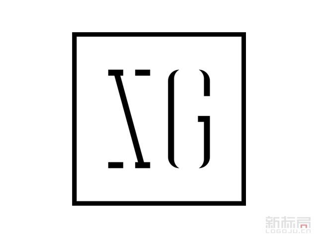 温州XG雪歌女装品牌标志logo