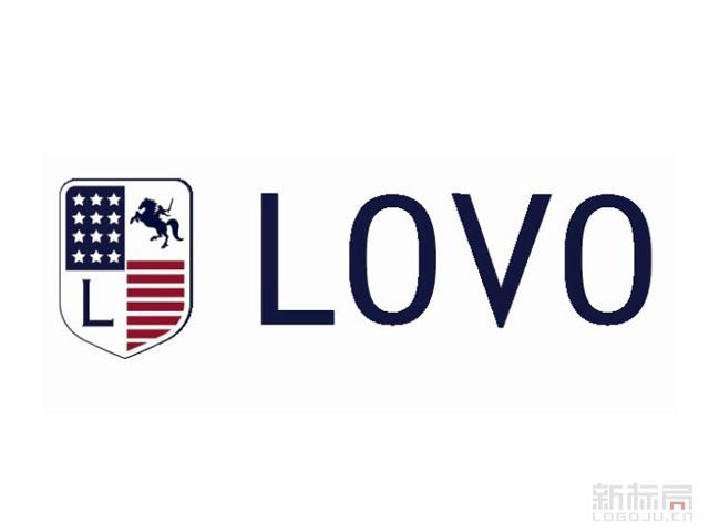 罗莱旗下LOVO家纺品牌标志logo