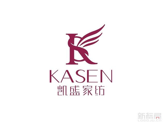 凯盛家纺品牌标志logo