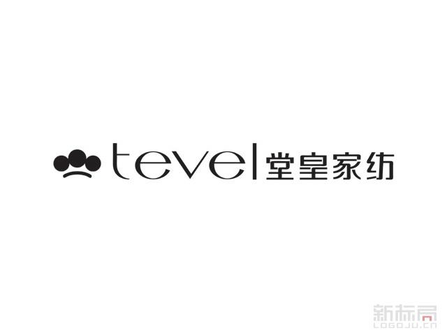 Tevel堂皇家纺品牌标志logo