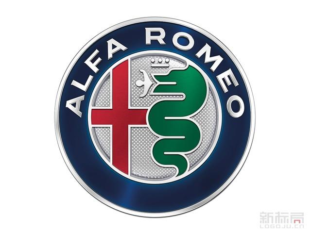 意大利汽车品牌阿尔法·罗密欧新车标logo