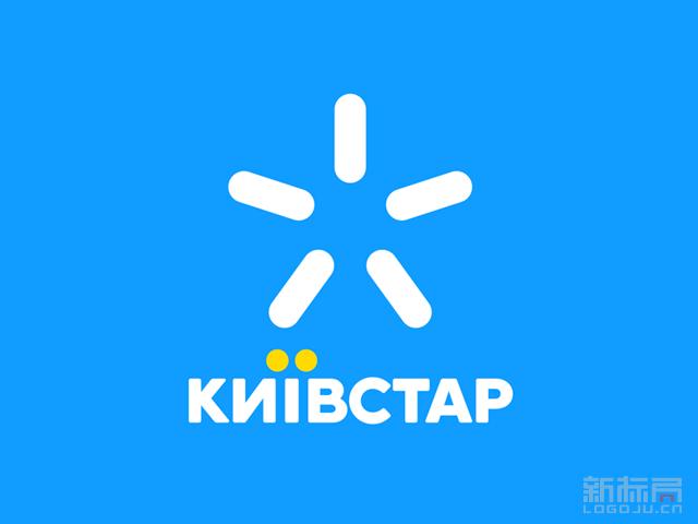 乌克兰移动运营商Kyivstar标志logo