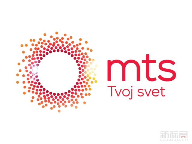 塞尔维亚电信公司MTS标志logo