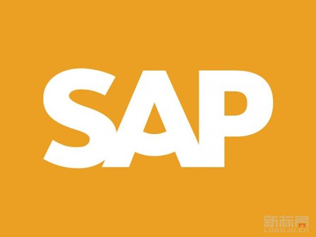 企业应用软件供应商SAP标志logo
