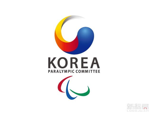 韩国残奥委会新标志logo