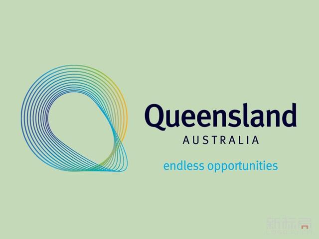 澳大利亚昆士兰州Queensland商贸推广标识logo