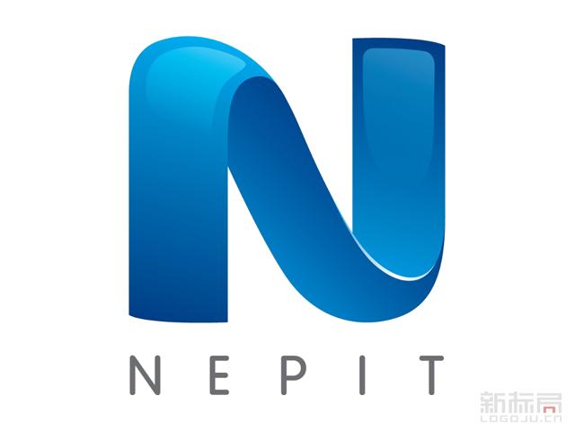 希腊新公共电视台NERIT标志logo