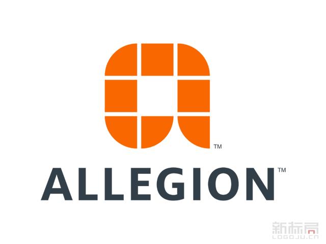 美国英格索兰五金独立品牌Allegion标志logo