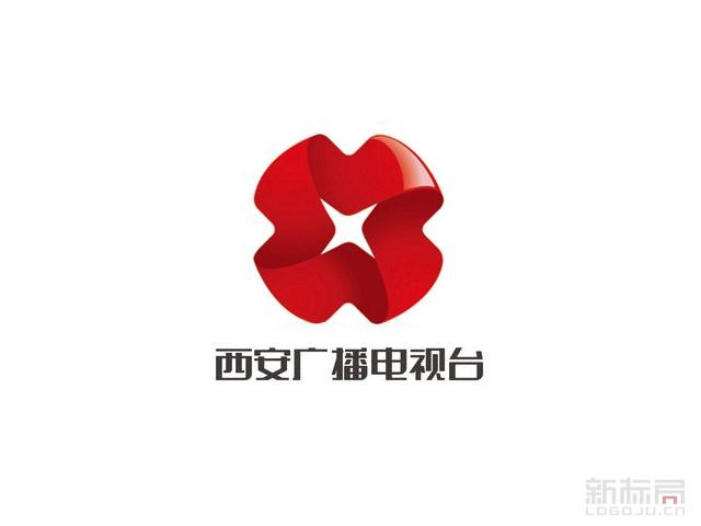 西安广播电视台新台标标志logo