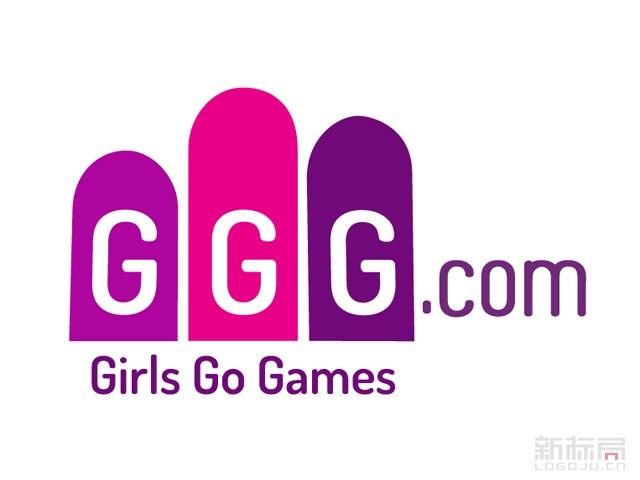 女性休闲游戏平台Girls Go Games标志logo