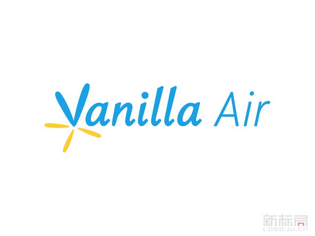 日本Vanilla Air香草航空标志logo