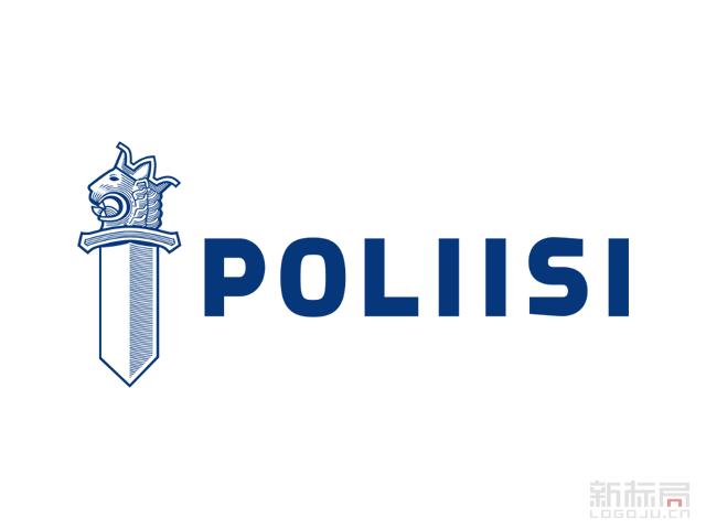 芬兰警察Finnish Police警徽标志logo
